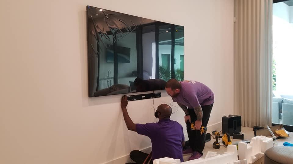 tv mounting Royal Palm Beach